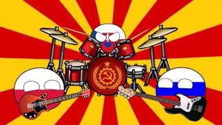 Countryballs band - Katyusha 2016 (ANIMATION)