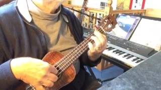 I Don't Care If the Sun Don't Shine - Solo ukulele - Arranged & played by Colin Tribe