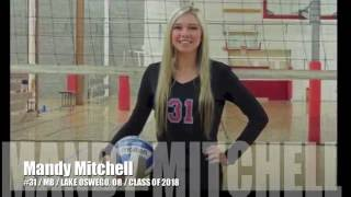 Mandy Mitchell #31 Volleyball MB -- Class of 2018 -- 06.18.16