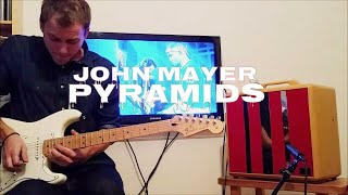 Frank Ocean ft. John Mayer - Pyramids - guitar solo cover