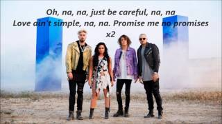 Demi Lovato and Cheat Codes- No Promises lyrics