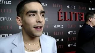 Élite   Omar Ayuso sobre Omar   Élite Netflix