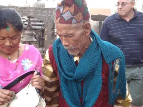 butter candle prayers at Swayambhunath 'Monkey Temple'