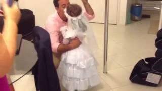 Cinderela entrando no casamento!;)