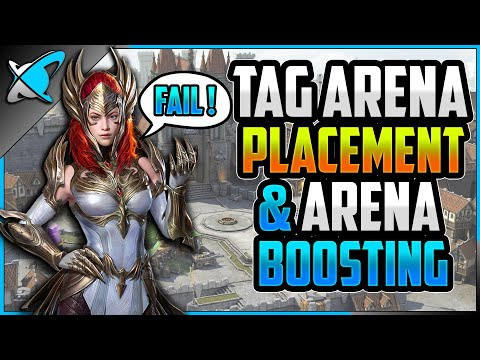 "Tag Arena Placement ""FAIL""... Arena Boosting ""OK""? 