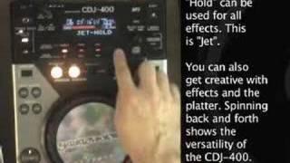 Pioneer CDJ-400 Review - functions