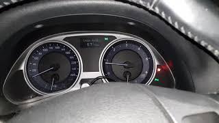 Пуск дизеля 2AD-FHV (Lexus is 220d). Водительское стекло приоткрыто.