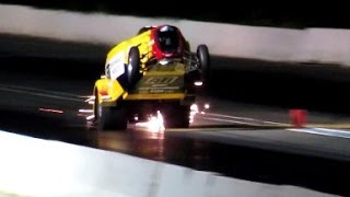 Wheelstanders 2016 at Lebanon Valley Dragway Night Of Fire