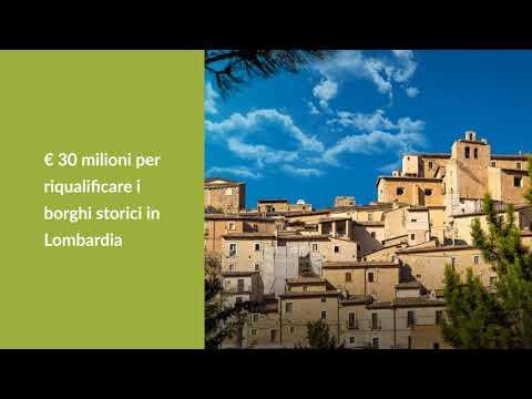 BORGHI STORICI: in arrivo il bando per i Comuni in Lombardia