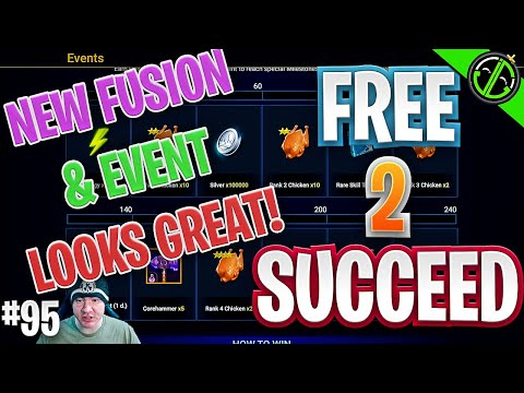 NEW Epic Fusion, Turkey Day Event, & Day 120 Login | Free 2 Succeed - EPISODE 95