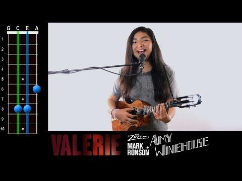 Comment jouer Valerie de Amy Winehouse au ukulélé