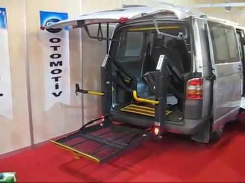 "CTM OTOMOTİV'den Wolksvagen Transporter Engelli Taşıma Aracı ""www.ctmotomotiv.com.tr"""