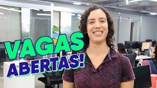 Vagas de Emprego Abertas em Abril! - Nestlé, Ambev, Globo.com