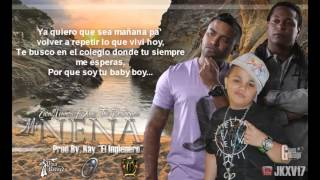 'Mi Nena'   Xavi 'The Destroyer ft Zion  Lennox   CON LETRA   Reggae Romantico 2O111