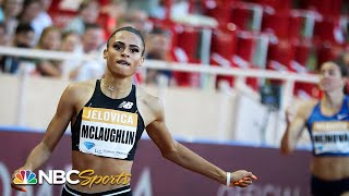 Sydney McLaughlin records fastest 400 hurdle of 2019 | NBC Sports