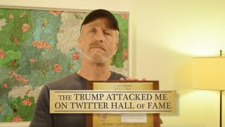 Jon Stewart Joins The 'Trump Attacked Me On Twitter' Hall Of Fame