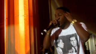 "Kendrick Lamar performing ""Cut You Off"" at Gentlemen Jack Arts, Beats, and Lyrics in D.C."