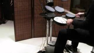 Duran Duran - Tiger Tiger [drum cover]  Roland HD-3
