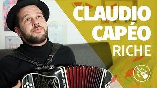 Claudio Capéo — Riche (session accordéon)