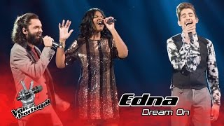 Edna - Dream On (Aerosmith)   Gala   The Voice Portugal