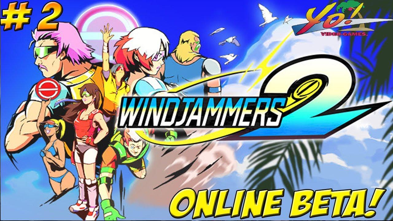 Maximilian_DOOD - Windjammers 2! Online Beta! Part 2 - YoVideogames