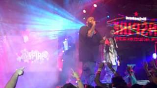 "Rick Ross Performs ""Aston Martin Music"" in NYC(Heineken)"