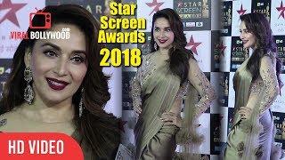 Madhuri Dixit At Star Screen Awards 2018   Star Plus Awards Show 2018
