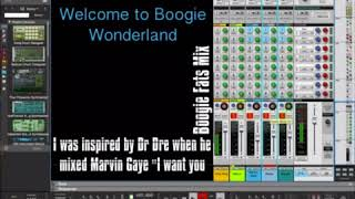 """My remake of Dr. Dre mixing Marvin Gaye's """"I want you"""""""