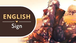 【BriCie】 Sign (English) - Naruto Shippuden OP 6