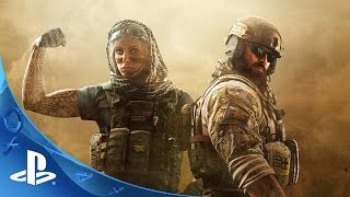 Tom Clancy's Rainbow Six Siege - Operation Dust Line Trailer | PS4