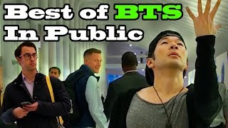 DANCING KPOP IN PUBLIC COMPILATION - BEST OF BTS by QPark!! width=