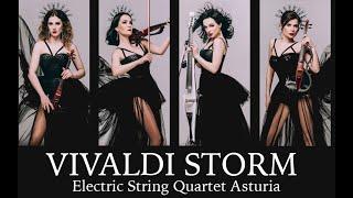 Storm - Vivaldi, cover remix by Electric String Quartet Asturia