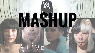 Faded (Alan Walker) vs. Sia ft. Rihanna Mashup (Faded/Cheap Thrills/The Greatest/Alive/Diamonds)