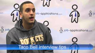 Interview Tips from a Taco Bell Manager