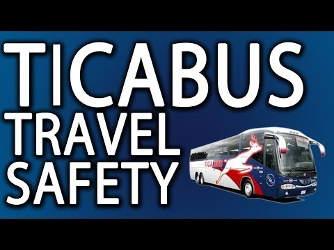 Ticabus Travel Safety: Tica Bus Travel In Central America Is Safe?
