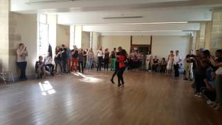 Morenasso & Adi Baran Kizomba Demo @Picardia Loca Laon France April 2017