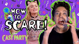 How to Scare | ZOMBIES | Disney Channel