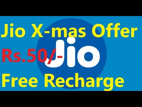 Download thumbnail for jio christmas offer Rs 50 free