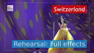 Timebelle - Apollo - Switzerland - Second Rehearsal - Eurovision Song Contest 2017 (4K)