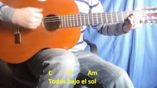 Cómo Tocar Mariposa Technicolor En Guitarra