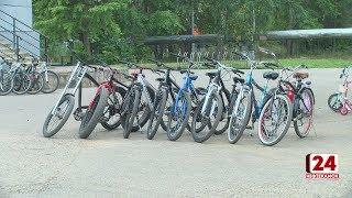 За неделю своровали 3 велосипеда