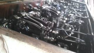 SD 40 locomotive engine start up