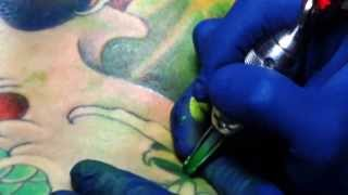 DIAU AN and Tattoo ink