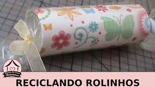 Reciclando rolos de papel higiênico: lembrancinhas de Páscoa