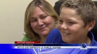Hijos autistas, retos que enfrenta la familia hispana