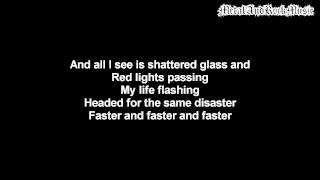 Three Days Grace - Car Crash | Lyrics on screen | HD