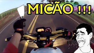 Maior Mico de Motovlog do BRASIL !!! na frente da POLICIA !!! KKKKK