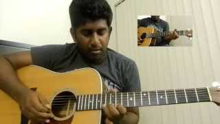Ilaya Nila Second Interlude |  Guitar Solo Lead Cover | Ashwin Asokan