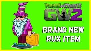 Brand New Rux Legendary Item - Plants Vs Zombies Garden Warfare 2