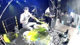 We're All Thieves - Never No Never, Live Drum Cam (tmoondrmz)
